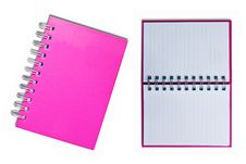Free Pink Notebook Stock Photo - 17367140