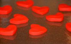 Free Red Hearts Stock Photos - 17367293