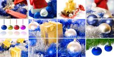 Free Christmas Collage Stock Photography - 17367412