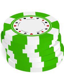 Free Gambling Chips Royalty Free Stock Images - 17367469
