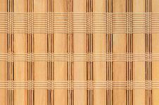 Free Woven Bamboo Background Royalty Free Stock Photos - 17367688