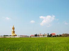 Big Buddha Image Royalty Free Stock Images