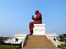 Big Buddha Image, Luang Phor To, Thailand Royalty Free Stock Photo