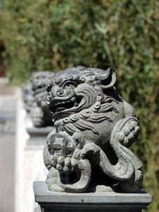 Free Lion Statue Stock Images - 17368694