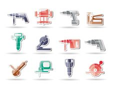 Free Building And Construction Tools Icons Stock Images - 17369014