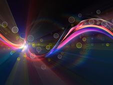 Free Colorful Background Rays Stock Photography - 17369692