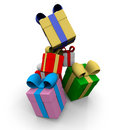 Free Colored Gift Boxes Royalty Free Stock Image - 17375706