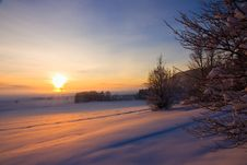 Free Winter Sunrise Stock Image - 17370121