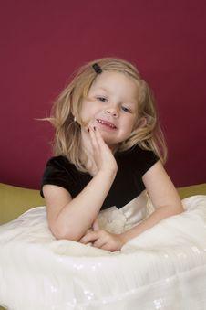Free Little Model Posing Royalty Free Stock Photos - 17370908