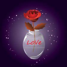 Free Rose Perfume Royalty Free Stock Image - 17371656