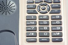 Free Phone Keypad Royalty Free Stock Images - 17372489