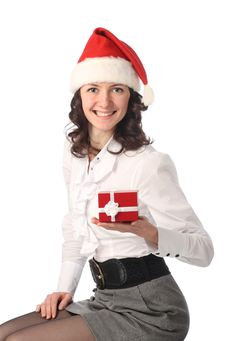 Free Happy Christmas Time (office) Stock Photography - 17372852