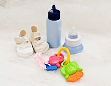 Free Baby S Accessories Royalty Free Stock Photography - 17372997