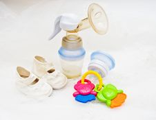 Free Baby S Accessories Stock Photography - 17373002