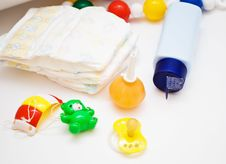 Free Baby S Accessories Royalty Free Stock Photography - 17373007