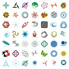 Free Set Of Symbols Stock Photos - 17373243