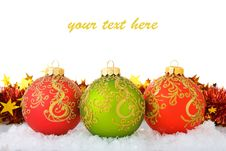 Free Christmas Decorations Royalty Free Stock Photography - 17373547