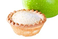 Apple Pie With Apple Stock Photos