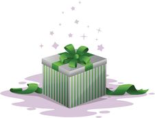 Free Gift Box Illustration Stock Photo - 17373690