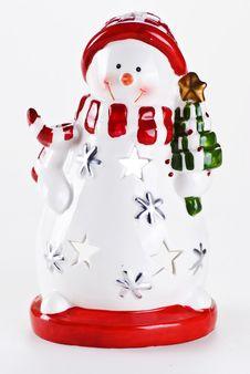 Free Snowman Royalty Free Stock Photo - 17373915