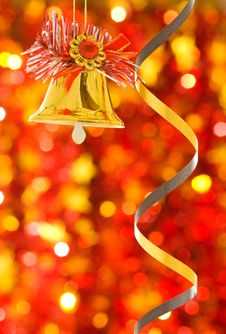 Free Christmas Bell Royalty Free Stock Photo - 17374065