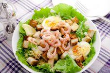 Free Caesar Salad Royalty Free Stock Images - 17374589