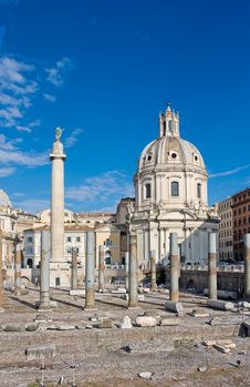 Free Santa Maria Di Loreto Royalty Free Stock Photography - 17374737
