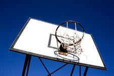 Basket Backboard Stock Photos