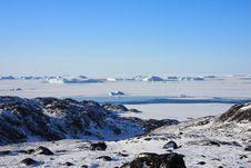 Free Frozen Sea And Icebergs Stock Photo - 17374880