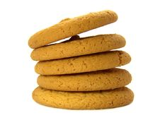 Free Delicious Cookies Isolated Stock Image - 17374921