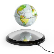 Free Globe In The Air Stock Image - 17375101