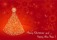 Free Christmas Tree. Vector 10eps. Stock Photography - 17375172