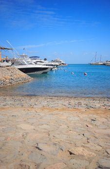 Free Luxury Yachts At El Gouna, Egypt Stock Photos - 17375223