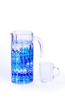 Free Carafe And Glass Royalty Free Stock Images - 17375369