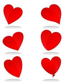 Free Heart Icon2 Royalty Free Stock Image - 17376056