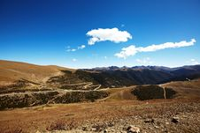 Free Road In  Mountains Stock Photos - 17376073