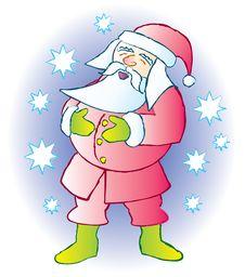 Free Santa Laughing Stock Photography - 17376332