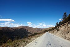 Free Road In  Mountains Stock Photography - 17376422