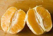 Free Freshly Peeled Organic Orange Stock Images - 17376904