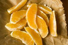 Free Freshly Peeled Organic Orange Royalty Free Stock Image - 17376976