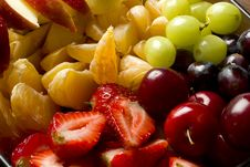 Free Mixed Tropical Fruits Salad Stock Photo - 17377070