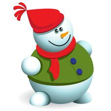 Free Snowman Royalty Free Stock Image - 17377236