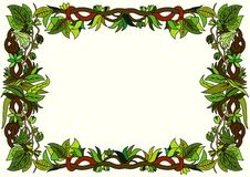 Free Floral Frame Royalty Free Stock Photography - 17377417