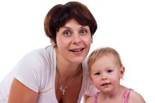 Free Mother And Daughter Royalty Free Stock Photography - 17377627