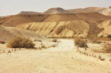 Free Desert Trail Stock Photos - 17377863