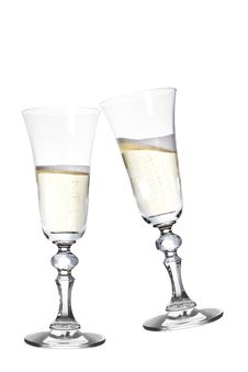 Free Celebration Toast With Champagne Stock Photography - 17378242