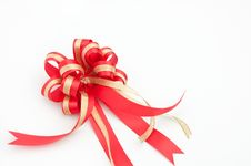 Free Red Ribbon Royalty Free Stock Photography - 17378387