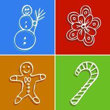 Free Christmas Decorative Design Stock Image - 17378571