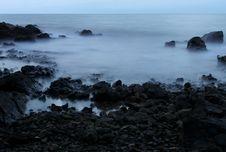 Free Evening Coastline Stock Photography - 17378702