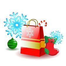 Christmas Design Vector Royalty Free Stock Photos